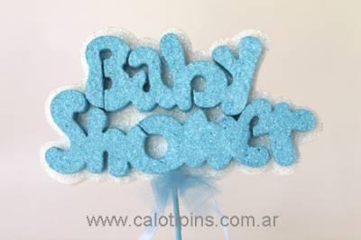 Palabra baby Shower x 3 unidades