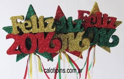 Feliz Año x 3 unidades