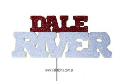 Palabra Dale River x 3 unidades