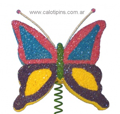 Mariposas Grandes Surtidas x 6 unidades